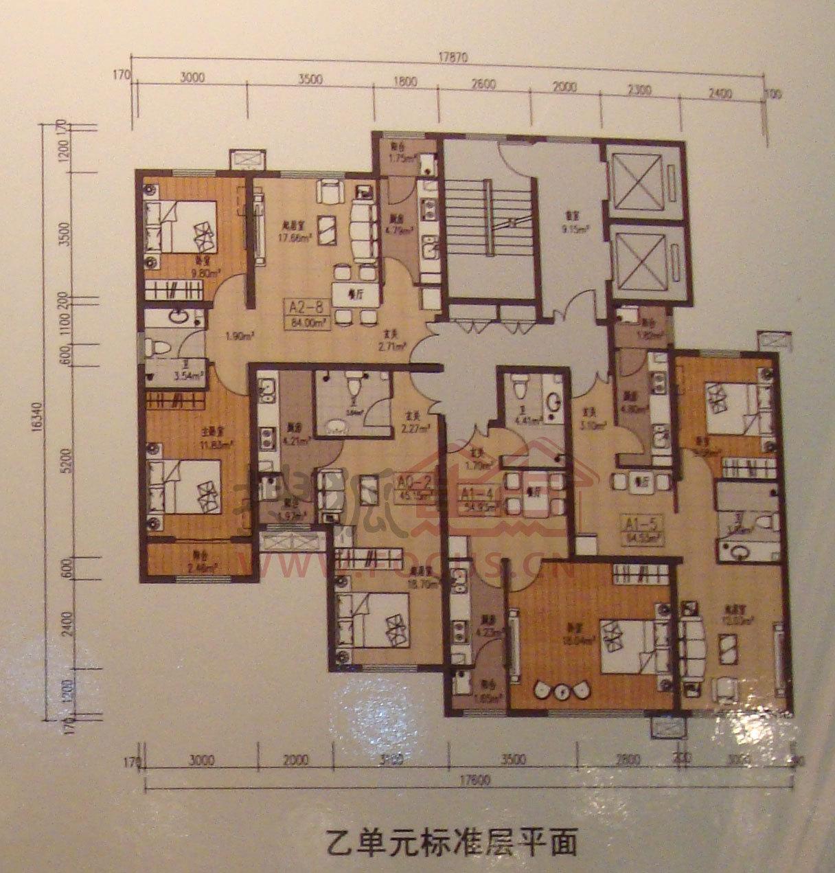 温泉凯盛家园(公租房)户型图