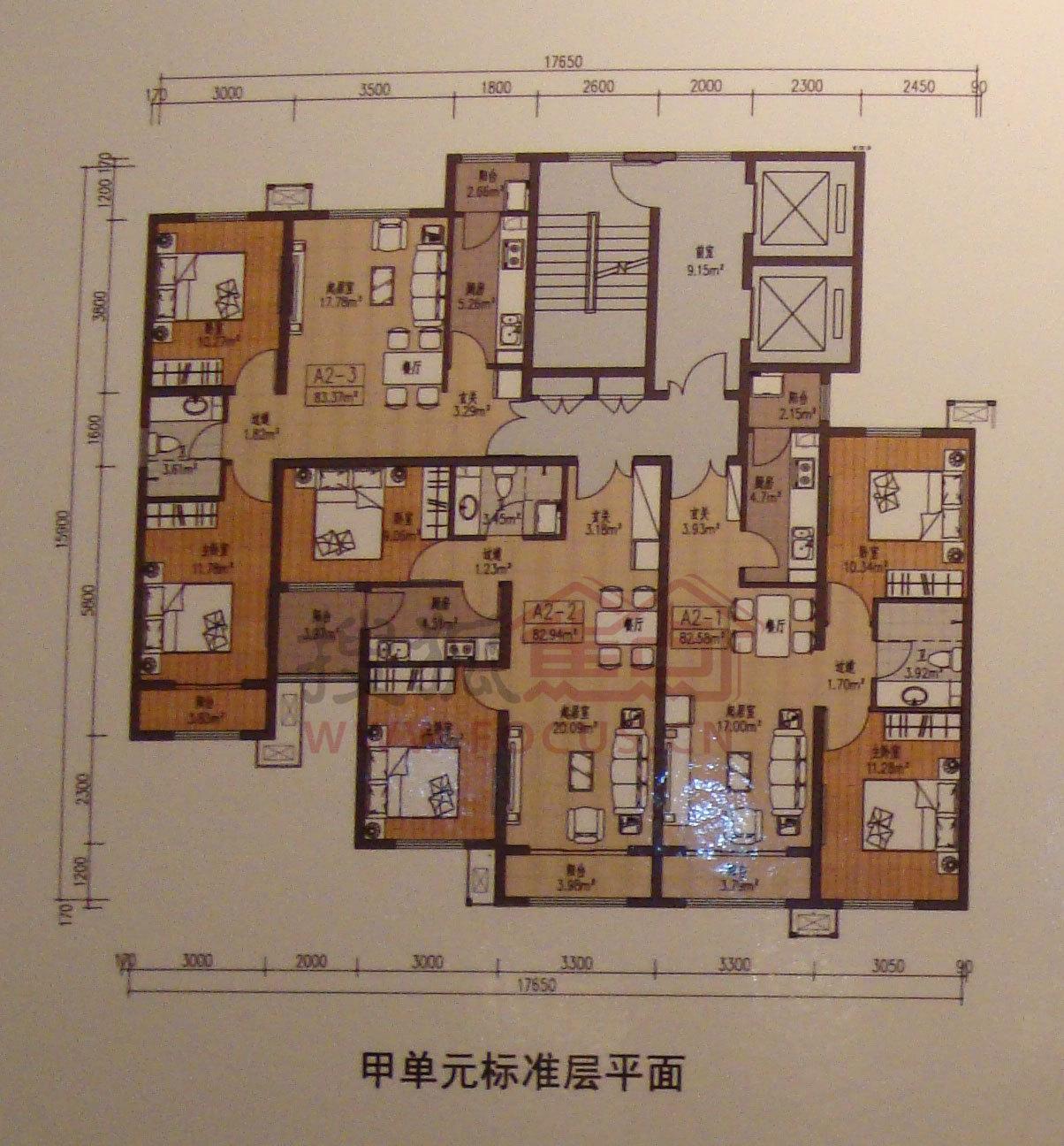 温泉凯盛家园(公租房)户型图图片