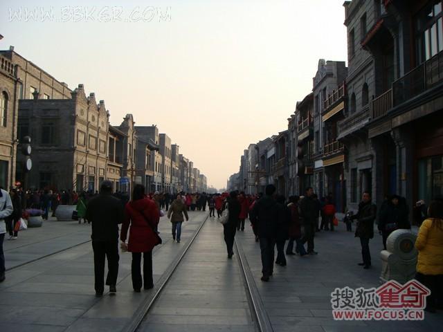 前门大街临街底商租售信息 北京商铺 商业地产 搜狐焦点网 高清图片