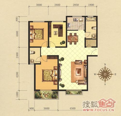 年初清点 邢台市区12大优惠打折楼盘 高清图片