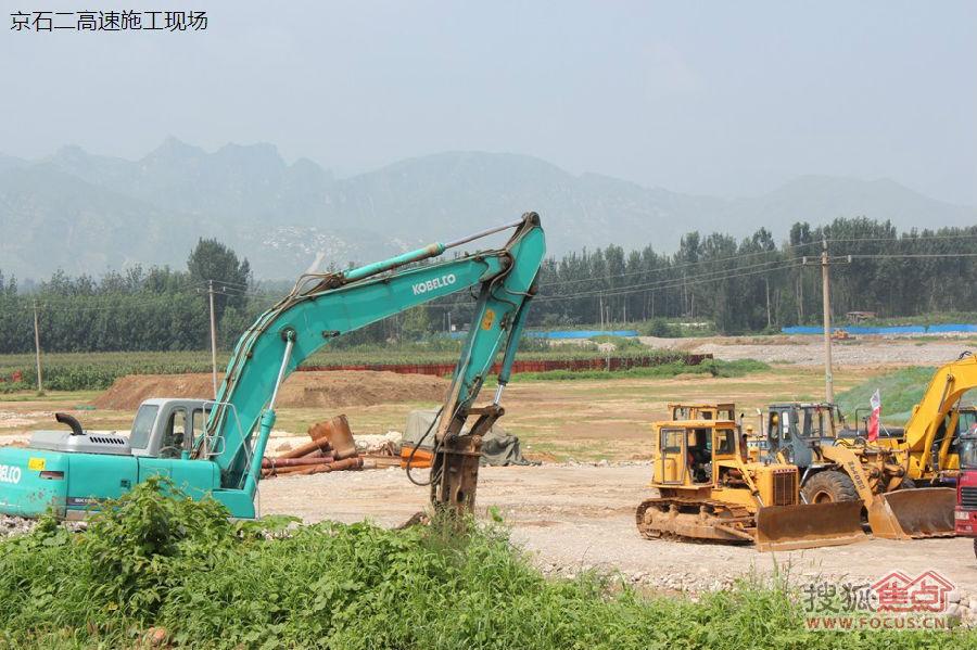 京石二高速要来了,天 华银 天鹅湖业主论坛图片