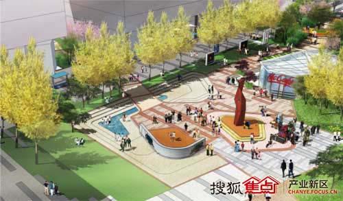 北京cbd园手绘图