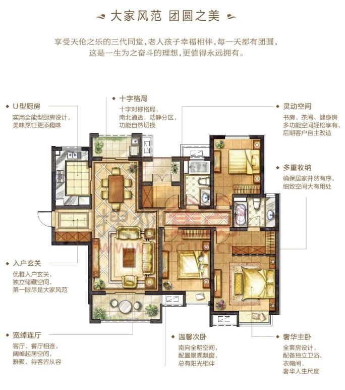 南通华润中心一期悦锦湾户型图震撼出炉