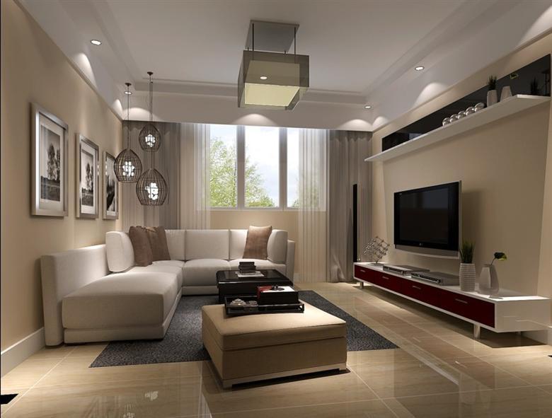 金泰丽富嘉园90平米2居室简约风格装修效果图高清图片