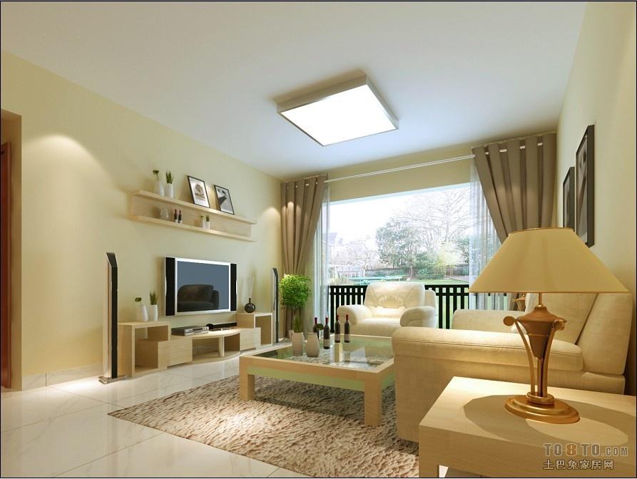 简约客厅地板装修效果图; 客厅瓷砖效果图; 木地板好还是瓷砖好