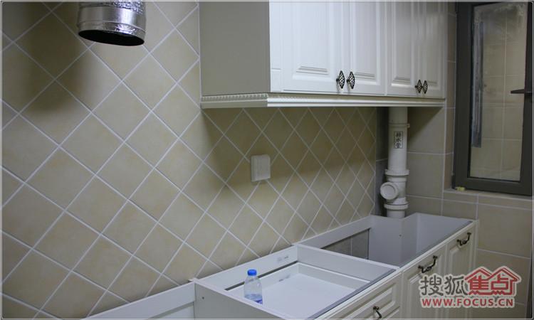 欧派厨房下水道安装图解
