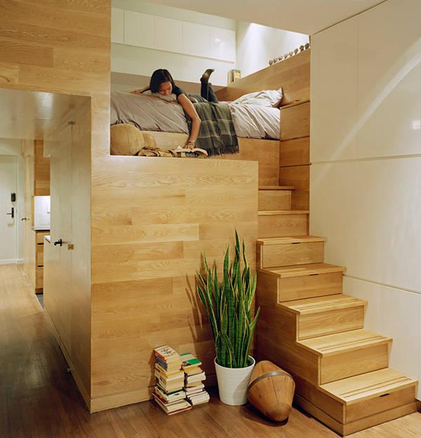 很棒的阁楼卧室!