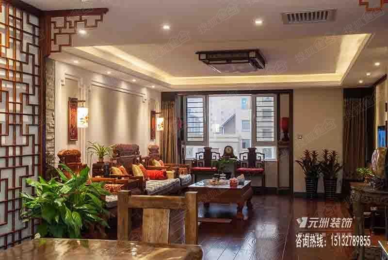 新中式风格实景照图片