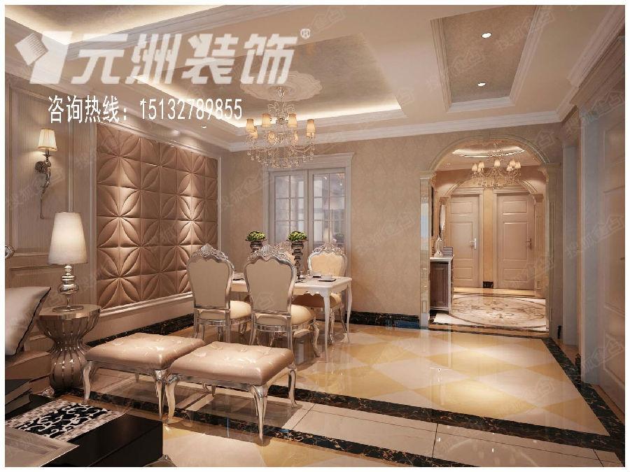 三室两厅 139平米欧式风格图片