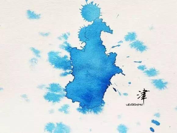 最有创意的中国地图,你绝对想不到家乡竟然这么美!