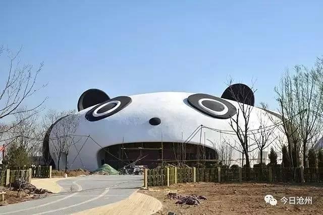 【最新】沧州动物园主场馆建好了,到底长啥样,带你先睹为快.