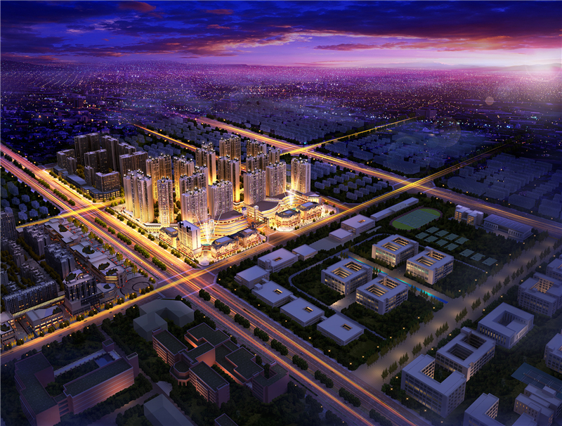 希望未来城效果图图片