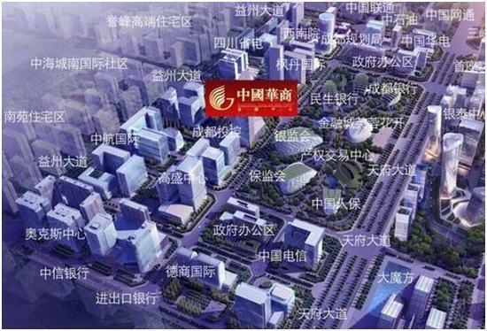 中国华商金融中心区位图