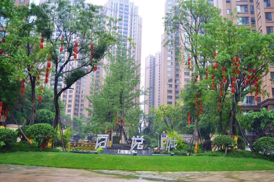 雨中漫步百悦城,不一样的美景-锦江城市花园3期-成都