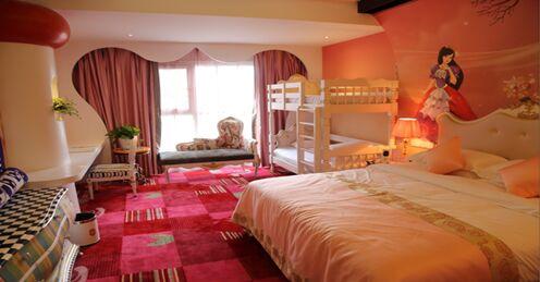 王子公主酒店的梦幻房间