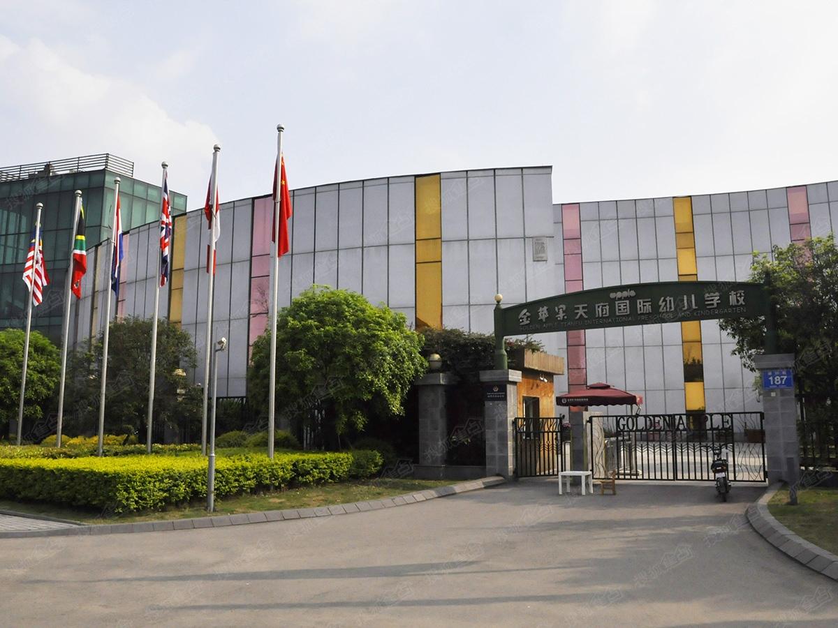 中洲锦城湖岸周边配套图-金苹果国际幼儿园