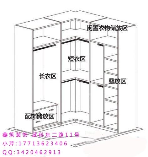 衣柜内部个性设计