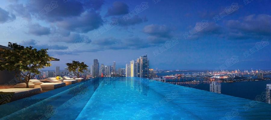 空中泳池_米空中泳池,俯瞰城市丽景