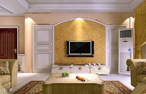 隐形门电视墙装修方式