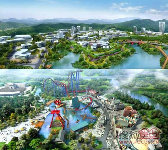 重庆华侨城在礼嘉 投资50亿 建欢乐谷和水公园图片
