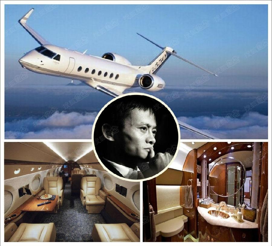 揭秘亿万富豪的私人空中座驾(载一程吧……)