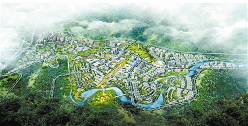 綦江新城中心——福星·星光廣場圖片
