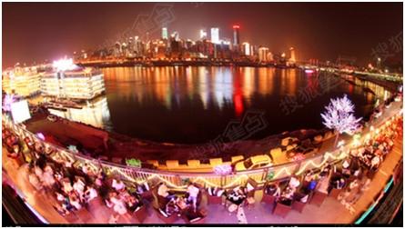 台湾最亮丽的南滨路美食街.新美食出的电视剧重庆图片