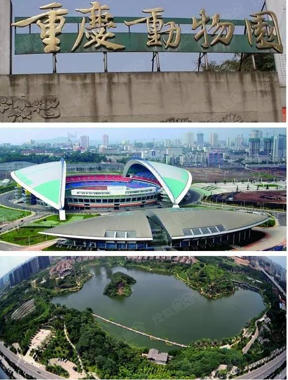 重庆市动物园,彩云湖国家湿地公园,奥体中心,巴国城公园等让您健康又