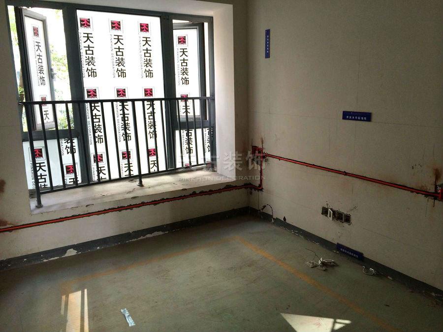 重庆御龙天峰小高层装修案例 水电施工图 天古装饰高清图片