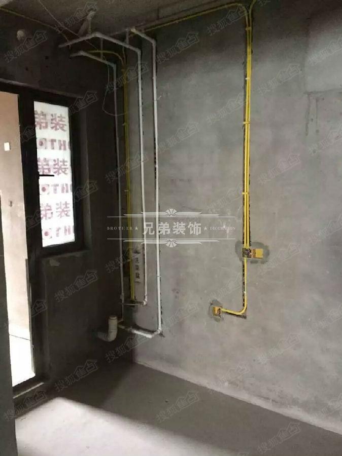 重庆水电基装工艺最好的装修公司 兄弟装饰在建工地展示高清图片
