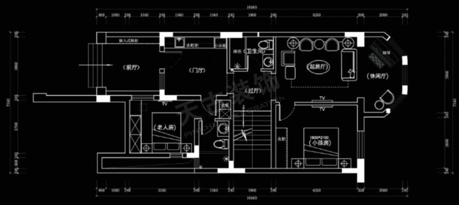 璧山秀湖鹭岛别墅设计方案丨秀湖鹭岛装修(天古装饰)