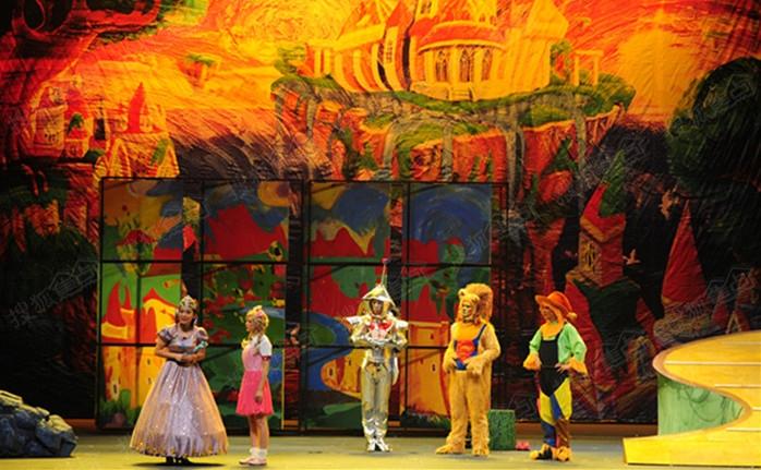 绿野仙踪儿童剧送票,儿童创意绘画班本    不得了,感觉最近融汇温泉城
