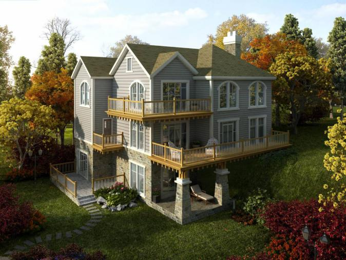 改善别墅土豪大平层与住宅选哪个?需求请随意二手重庆别墅渝中区图片