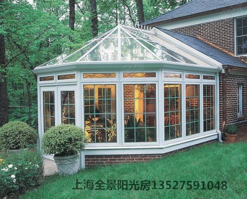 上海全景阳光房 铝木门窗 车库棚 露台棚 防盗纱窗欢迎来电咨询!