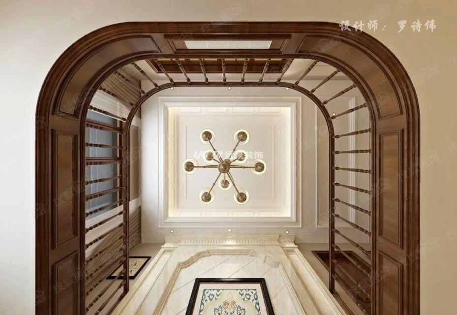 客厅休闲区摆上两个中式禅意的凳子,沉稳,大气,品质感扑面而来!图片