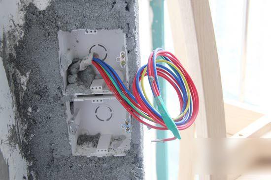 家庭电线接线方法及图