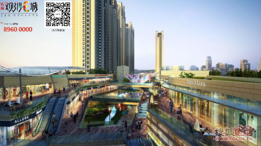T办公与国际化新加坡式无风雨连廊精品Art-deco风情社区,倾情打造