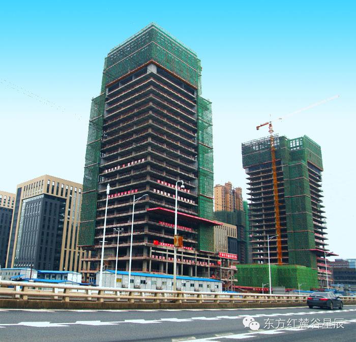 打造麓谷地标,湖南东方红建设集团为高新区创业基地提供质量保障
