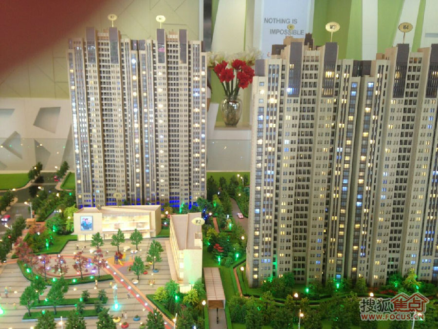 T办公与国际化新加坡式无风雨连廊精品Art-deco风情社区.   建筑造型