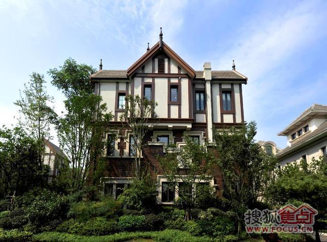 (宁乡长沙澜湾别墅实景图.)设计图哪里的有别墅图片