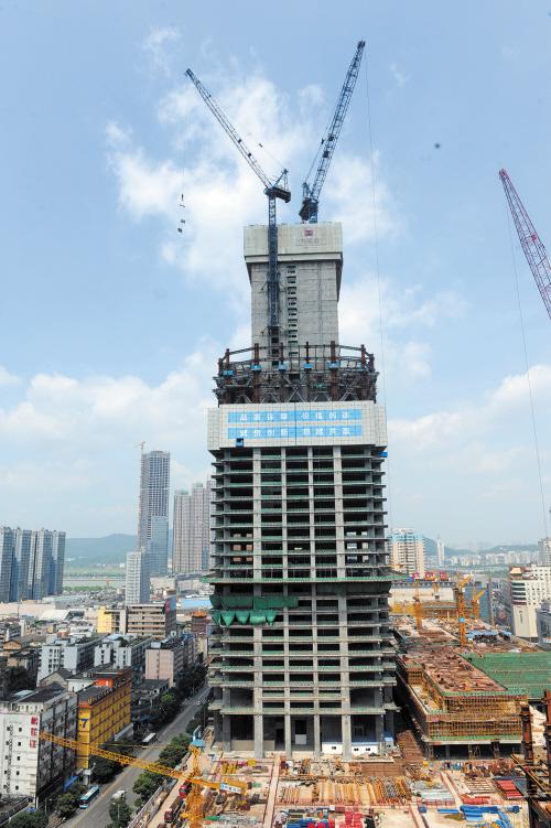 湖南在建        ——九龙仓长沙国金中心