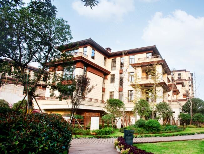 玄关中的新别墅,海尔给你中国式别墅v玄关效果图装修豪华别墅庄园图片