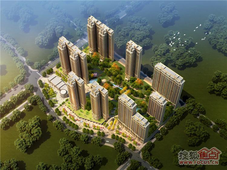 中国水电星湖湾效果图-在售89 127平房源 4700元 平起