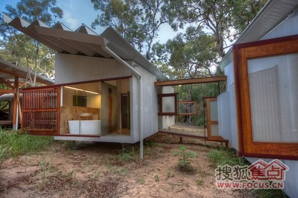 奇趣设计 澳洲平房变身创意别墅图片