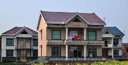 华西村农民别墅豪华带来惊诧 盘点农村奢华住宅图片
