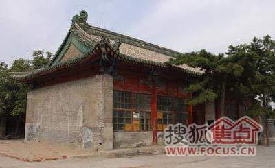 别墅中的北京四大传说之西安门礼凶宅太空图厅王府图片