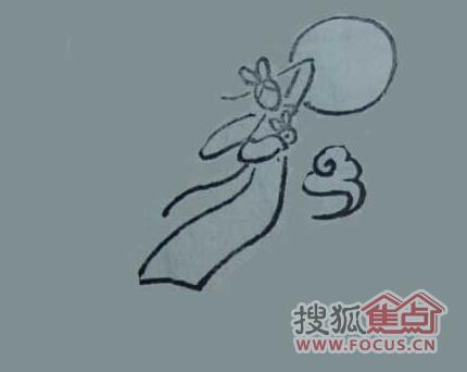 中秋节手抄报素材 嫦娥系列图片5