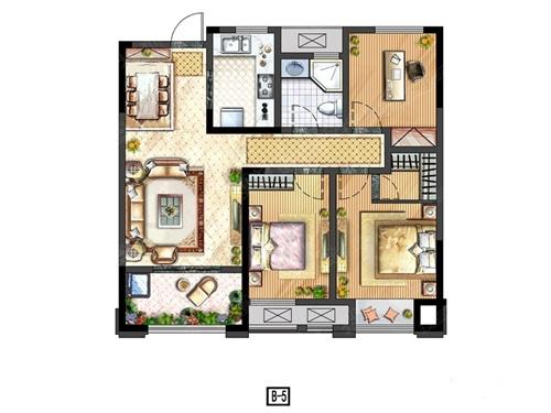 形房子设计图长方形房子设计图 直长方形房子设_正的图片