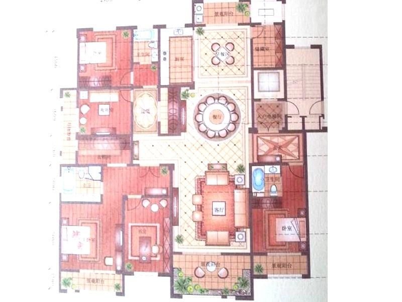 娄底福源小区的结构图