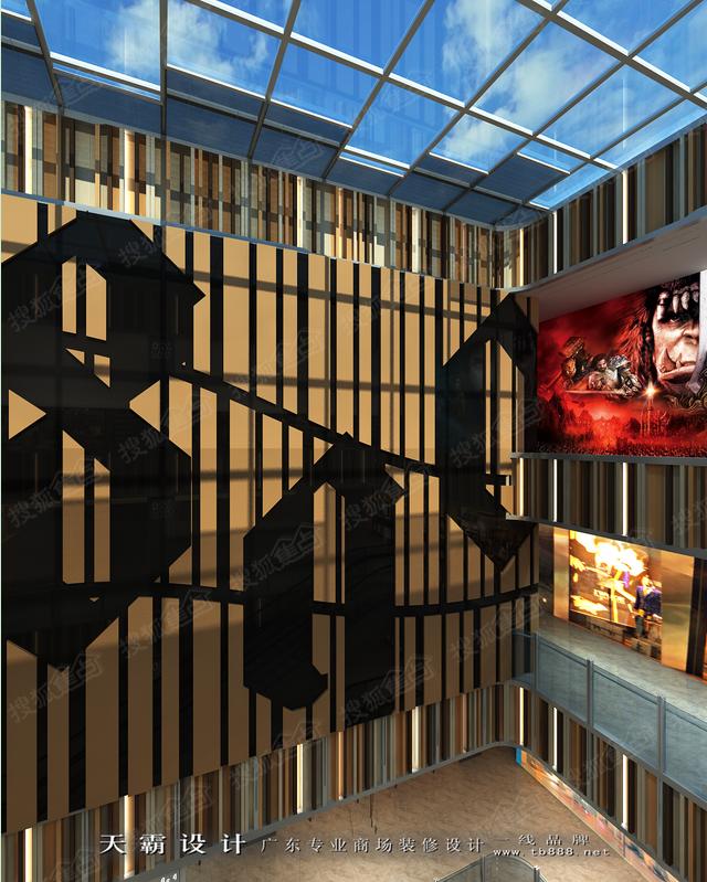 不容错过的海南商场装修效果图:海南商业大厦室内装修